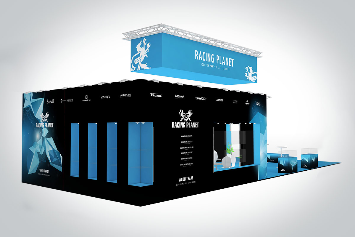 Racing Planet Messestand